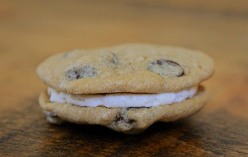 Chocolate Chip with Creamy Dulce de Leche Filling