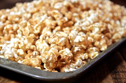 Crispy Maple Popcorn