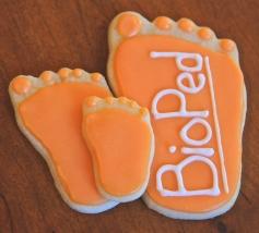 Decorated Sugar Cookies, Feet