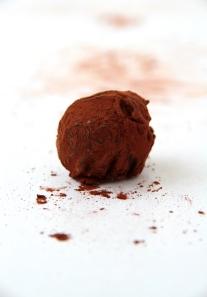 Cardamom Dark Chocolate Truffle
