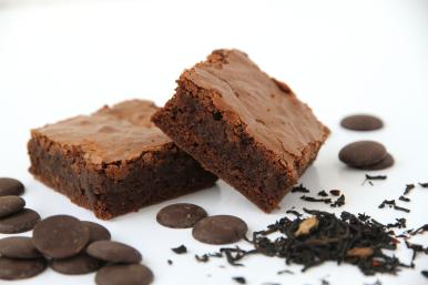 Black Tea infused Brownie