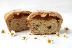Chamomile Biscuit Roll (Cut in half)