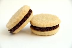 Ganache filled Sugar Cookie