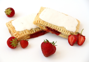 Seasonal Fruit Filled Toaster Pie